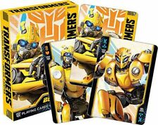 TRANSFORMERS MOVIE - BUMBLEBEE - PLAYING CARD DECK - 52 CARDS NEW - 52562