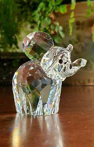 Super Sparkling Swarovski Crystal Elephant