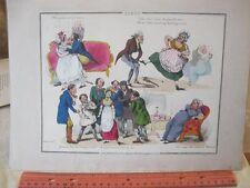 Vintage Print,JEALOUS OUT SEASON,Popular Songs,Henry Alken,1825