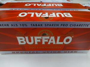 Buffalo Special Hülsen 10 x 200=2000 Zigarettenhülsen zum Toppreis