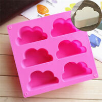 Mold Soap Wax Mould Ice Cake Jelly Mousse Cube Chocolate Baking Cloud Tray 3D