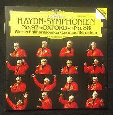 Haydn: Symphony Nos. 92 Oxford & 88/Bernstein DG Full Silver W Germany Polygram