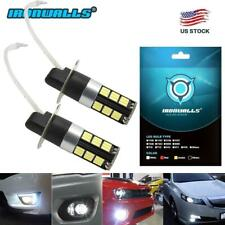 IRONWALLS H3 160W High Power 2835 20SMD LED White Fog Driving DRL Light Bulbs US