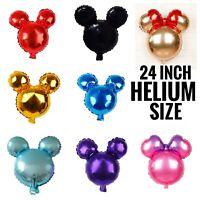 Mickey Balloons Minnie Mouse Balloons Birthday party Mickey Ears balloons