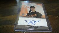 2005 BOWMAN SIGNS OF THE FUTURE TIM HUTTING  AUTOGRAPHED BASEBALL CARD