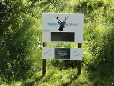 CLAY PIGEON SHOOTING PILLA TRAP BROWNING ADVERTISING SPACE FOR SALE / TO RENT