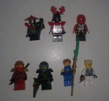 Lego Ninjago Figure Lot
