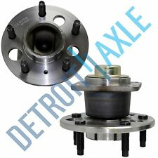 Set (2) New REAR Wheel Hub and Bearing Assembly for 2008 Chevrolet Impala - FWD