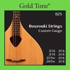 Gold Tone BZS Bouzouki Custom Gauge Strings