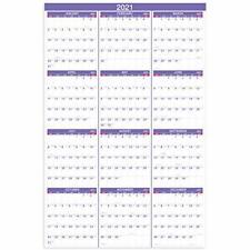 2021 Yearly Wall Calendar - 2021 Wall Calendar with Julian Date,