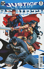 Justice League Rebirth #1 Cover B Variant Joe Madu NM DC Rebirth Comic
