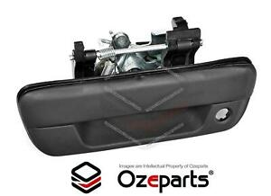 Rear Tail Gate Tailgate Handle Black W/ Key Hole For Isuzu DMAX D-MAX Ute 06~12