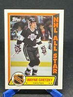 1989-90 Topps Hockey Wayne Gretzky All Star Sticker #11