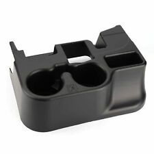 Black Center Console Cup Holder for  2003-12 Dodge Ram ADD-ON 1500/2500/3500