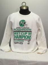 1989 Grey Cup Champions Sweater - Saskatchewan Roughriders - Men's Extra Large