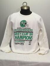 1989 Grey Cup Champions Sweater - Saskatchewan Roughriders - Men's Extra Large