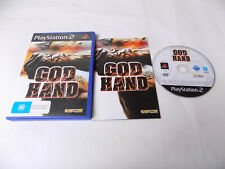 Mint Disc Playstation 2 Ps2 God Hand - Rare - Complete -  Free Postage