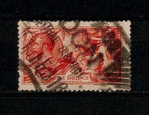 ✔️ (YYBF 1005) GB UK 1913 - 1918 USED  22 mm cancel