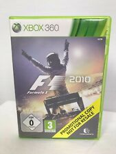 F1 2010 Promotional Copy Microsoft Xbox 360 Game Collectors Item RARE PAL AUS/NZ