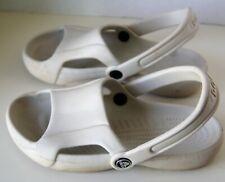 Crocs  Light Gray  Off White Open Toe Shoes Women's Size 6W