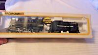 HO Scale Bachmann 4-6-0 Steam Locomotive, Southern Pacific, Black #2313, BNOS