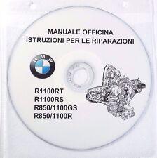 CD MANUALE OFFICINA,MANUTENZION,ISTR. RIPARAZIONI BMW R850-1100 R-RT-RS-GS   prm