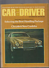 Car and Driver Magazine November 1974 Toyota Celica Chrysler Cordoba