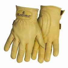 PLAINSMAN 12 Pairs Goatskin Leather Wholesale Work Gloves MEDIUM New Free Ship