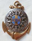 Insigne 4° RIC TOULON Régiment Infanterie Coloniale ORIGINAL AFN GUERRE ALGERIE