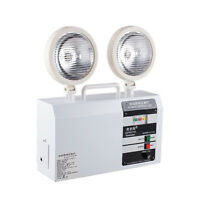 220V Automatic emergency light Double Head Rechargeable LED safety exit light Y