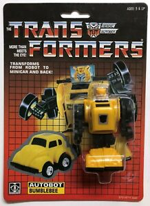 TRANSFORMERS G1 AUTOBOT BUMBLEBEE MOSC! US SELLER RARE!