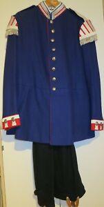 Uniformrock + Hose Sergeant/Musiker 1. Garde-Regiment z. F. um 1900, bunter Rock