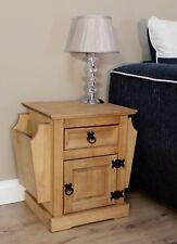 CORONA Magazine Rack - Pine COR35 by Mercers Furniture