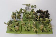 41 Snotlings metal orcos & goblins Grot Snotling ejército Warhammer Citadel 51