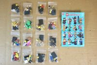 LEGO MINIFIGURES 8805 SERIES 5 COMPLETE SET of 16 FIGURES nr