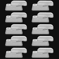 10 x White UPVC Window Safety Locks Door Sash Jammer Restrictor Lock White UK