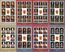 SOLOMON  MNH SHEETS 2008 KINGS & QUEENS ENGLAND SG 1238-124