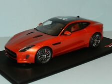 Top Speed Models 1/18 Jaguar F-Type R Coupe Firesand Metallic MiB