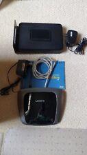Netgear CG3000D DOCSIS 3.0 Wireless-N300 4-Port  Router/ Modem & Linksys Router