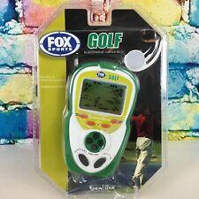 GOLF Electronic Handheld Pocket Game FOX SPORTS Travel Size Excalibur 18 Holes