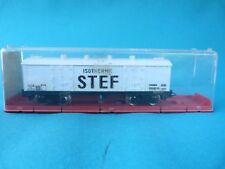 Train Jouef - Wagon frigorifique STEF à bogies  - En boîte 6560 - Ho - 14 cm