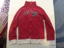 Chicago Blackhawks Embroidered 47' Brand Full Zip Sweatshirt SZ L - Cool