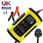 Automatic Intelligent 12V Motorcycle Motorbike Battery Charger Smart Trickle UK  <br/> ❤500+ Sold ❤Smart Charger❤LCD Display❤Free Return❤Hot❤