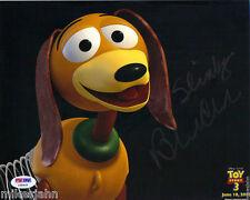Blake Clark Toy Story Slinky Dog Rango Signed Autograph 8x10 Photo PSA DNA COA