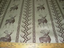 "~11 YDS~REGAL ""SOUTHWEST ELK TIVERTON"" ~WOVEN UPHOLSTERY FABRIC FOR LESS~"