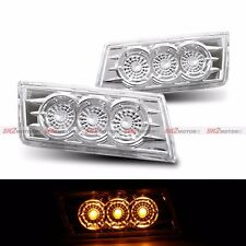 FRONT BUMPER CLEAR SIDE LED SIGNAL MARKER LIGHT LAMP FITS 04-10 CHRYSELR 300C