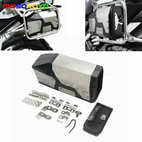 Left Side Bracket Aluminum Tool Box For BMW R1250GS R1200GS LC & ADV Adventure