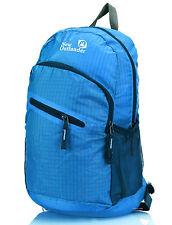 Blue Rucksack Backpack New Outlander 25L Cycling Running Light Bright Flight Bag