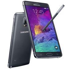 """SAMSUNG GALAXY NOTE 4 SM-N910F 5.7"""" Nero 3gb 32gb 16mp Posteriore Lte Smartphone"""