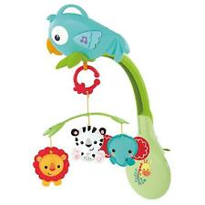Fisher-Price 3-in-1 Musical Mobile Rainforest CHR11